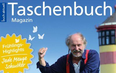 Klaus-Peter Wolf im neuen Taschenbuch-Magazin